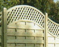 Wood Trellis Fences