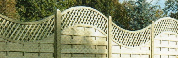 Wood Trellis Fences