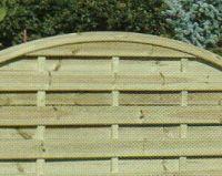 Wood Lapped Panel Fences