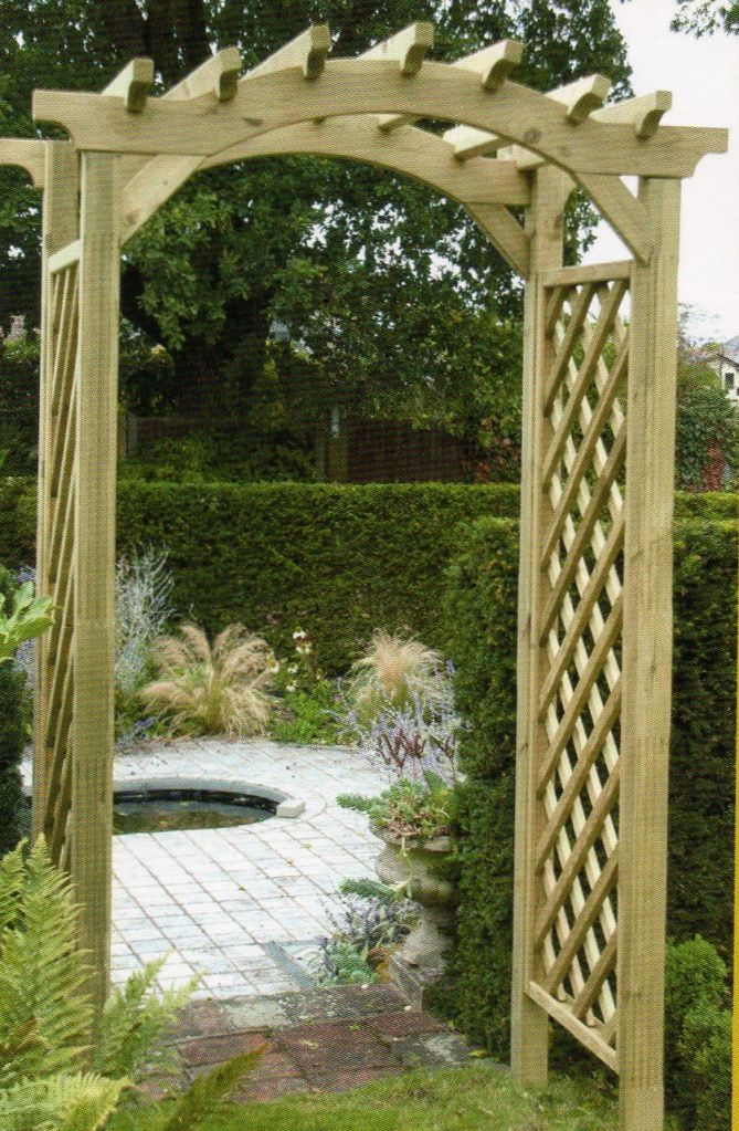 Rose arches quotes - Garden wood arches ...