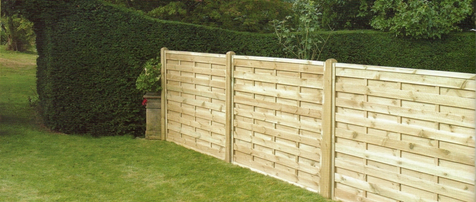 Wooden Panel Fences