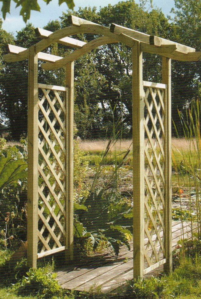 Wooden garden arches how to build a shed material list