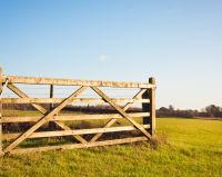 Wooden Field Gates