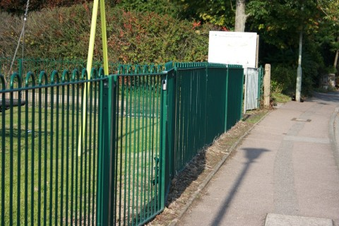 School and Playground Railings