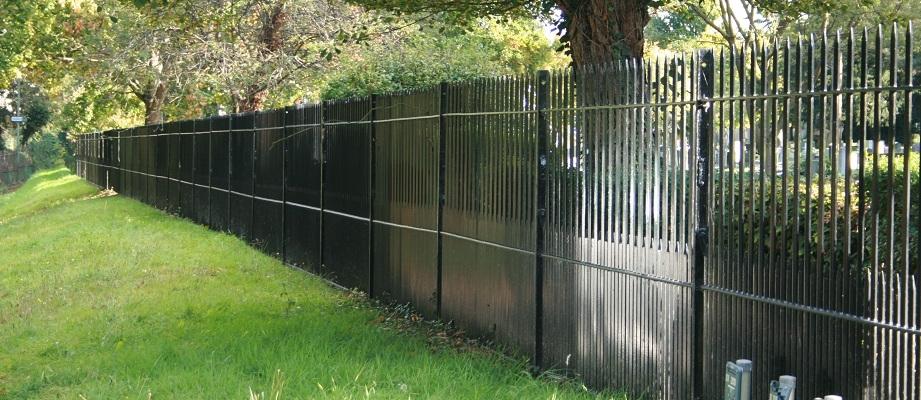 Metal Rail Fencing