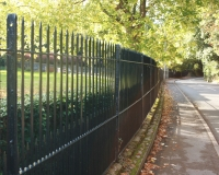 Metal Rail Fences