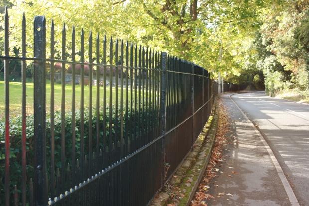 Metal Rail Fences